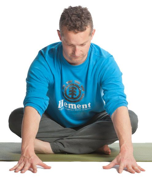 Easy Seated Pose Variation
