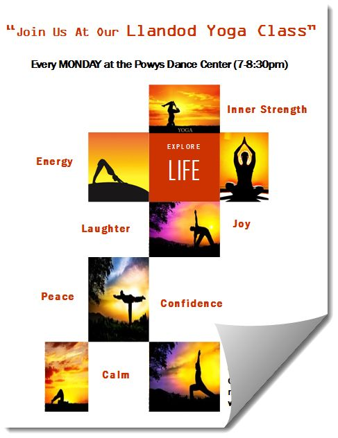 Yoga Flyer Template In MS Publisher Format