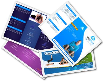 Yoga Brochure Templates In MS Word & PSD Formats