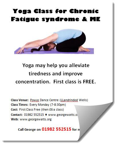 Yoga For ME Flyer Template