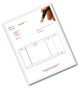 Yoga Invoice Template