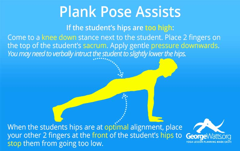Plank Pose Assists
