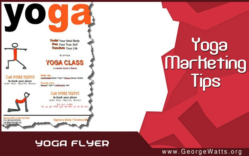 Yoga Marketing: Use A Yoga Flyer Template To Double Your Income