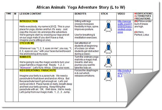 African Animals Lesson Plan