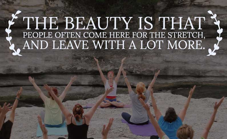 Yoga Quote: Leave With More
