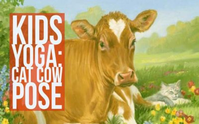 How To Teach Cat Cow Pose To Kids: Includes Video & Downloadable Handout