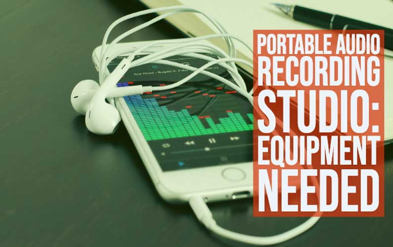Portable Audio Recording Studio: Start Recording Your Classes