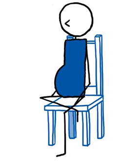 how to teach seated pigeon pose  lesson planner