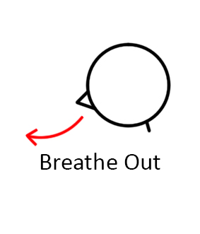 how to teach breathe out pose  lesson planner