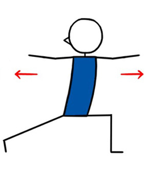 how to teach revolved high lunge twist pose  lesson planner