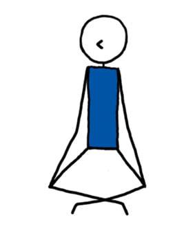 how to teach inner eye meditation pose  lesson planner