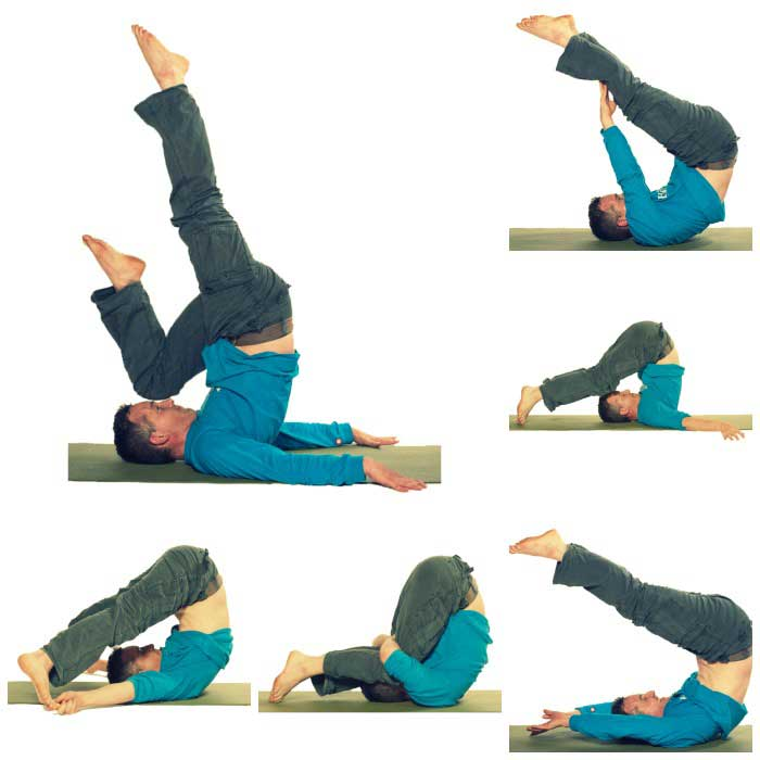 Plough Pose Modifications