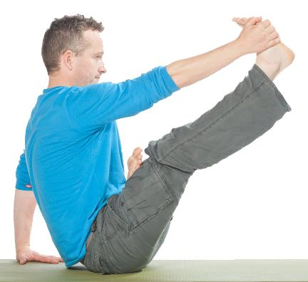 How To Teach Heron Pose