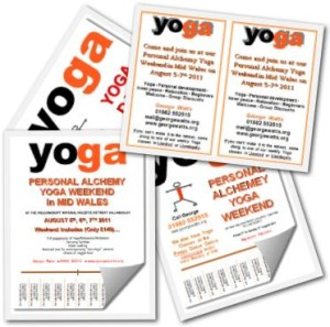 Yoga Retreat Flyer Pack