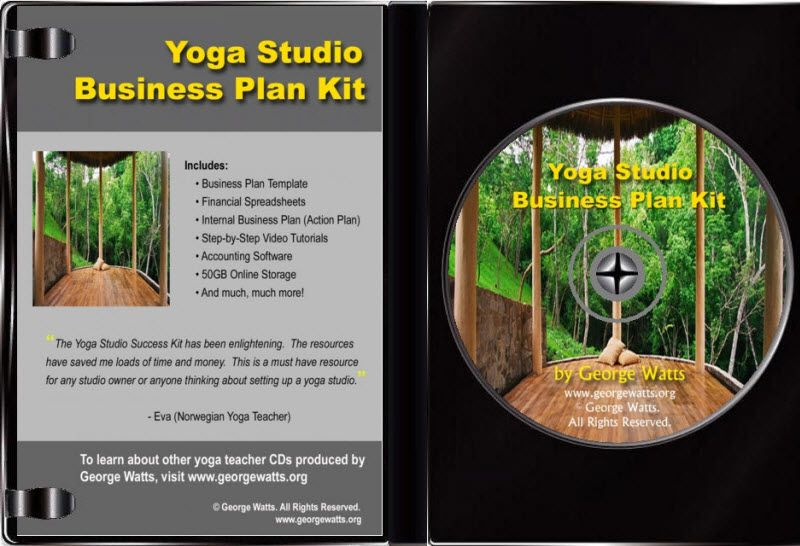 Pre-filled Yoga Studio Business Plan