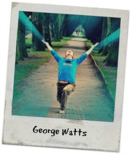 George In Warrior Pose