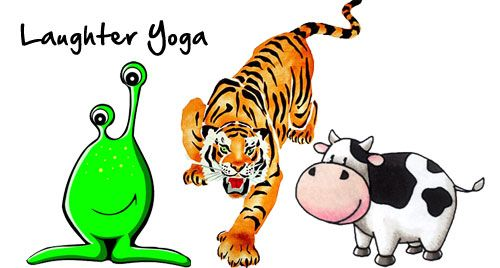 Laughter Yoga Exercise: Alien, Tiger & Cow