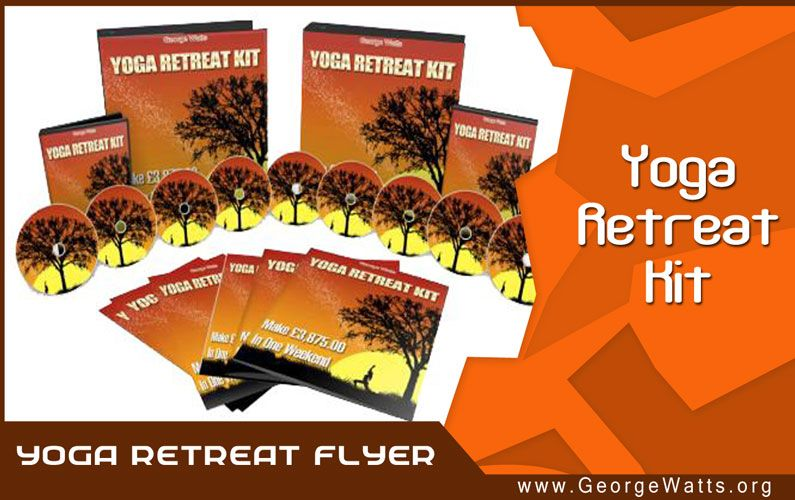 Yoga Retreat Flyer Template
