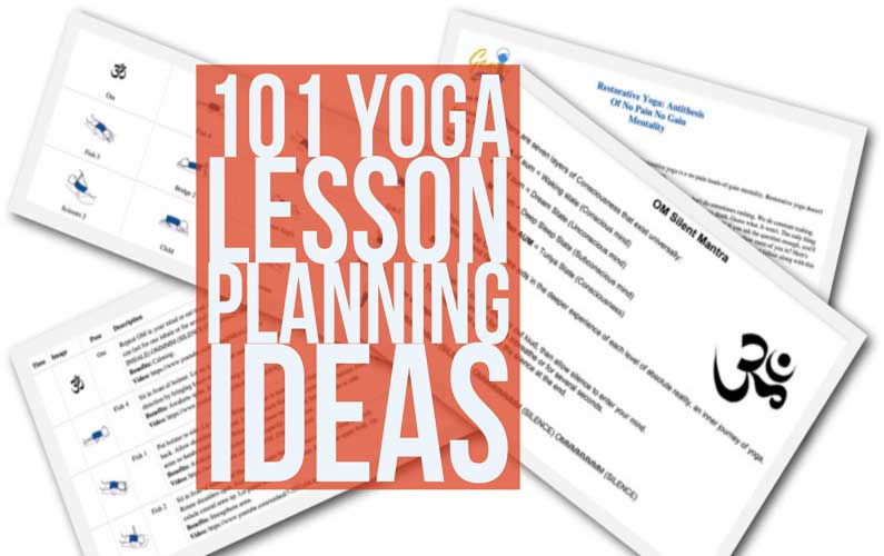 yoga lesson planning ideas