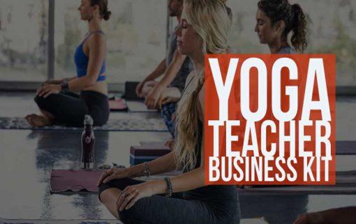 Yoga Teacher Business Kit