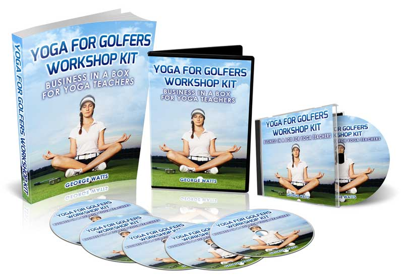 golf yoga workshop kit