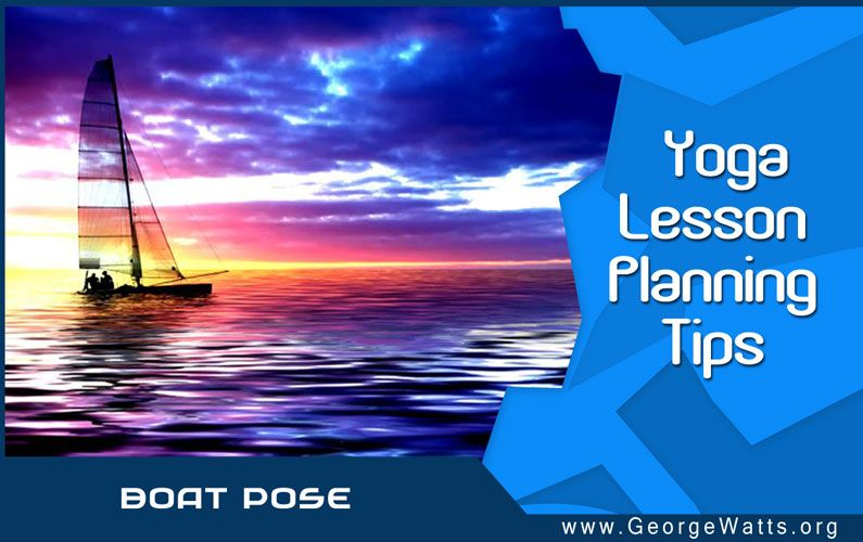 Boat Pose Themed Yoga Lesson Plan: Free Download