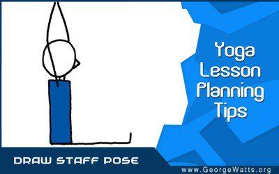 How To Draw Staff (Dandasana) Pose