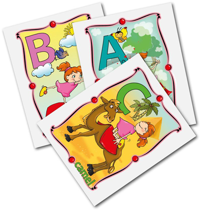 ABC Card Deck