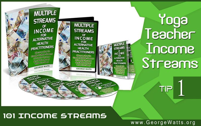 101 Yoga Teacher Income Streams