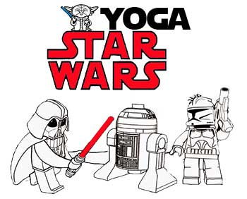 Star Wars Yoga Lesson Plan
