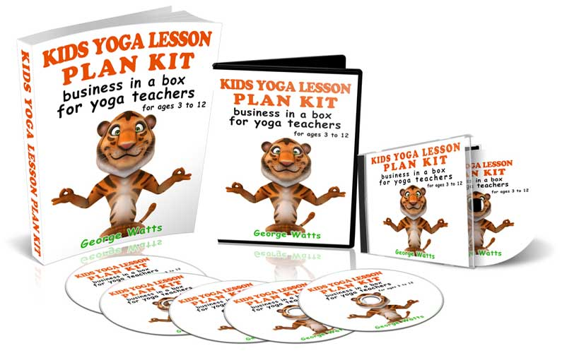 kids yoga lesson plan kit