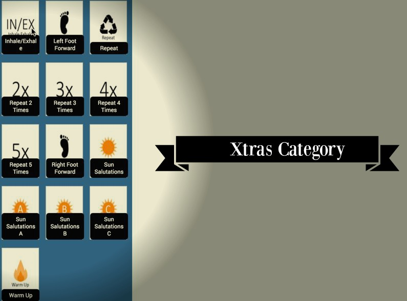 Yoga Lesson Plan Creator New Feature Announcement: Xtras Category