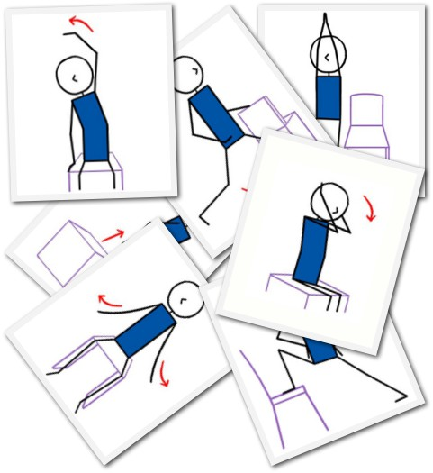 Chair Yoga Lesson Plans: 7 New Chair Yoga Poses Added To The Yoga Lesson Planner