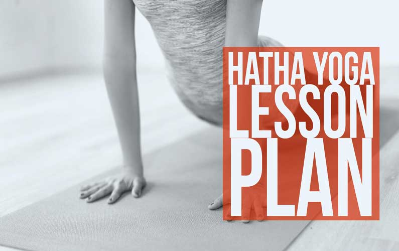 hatha yoga lesson plan