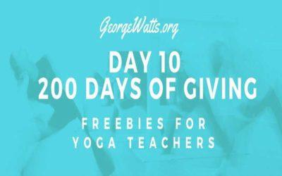 Free Downloadable Chair Yoga Lesson Plan