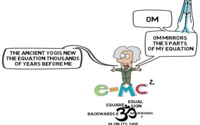 The Remarkable Yogic Story Behind Einstein and OM: Animated Video & Free Handout