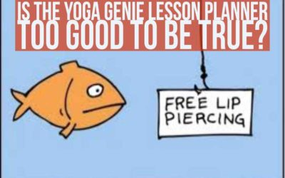 Is The Yoga Genie Lesson Planner Too Good To Be True?