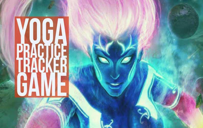 Yoga Practice Tracker Game