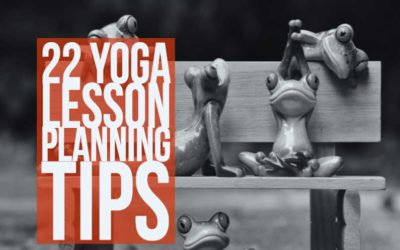 22 Yoga Lesson Planning Tips