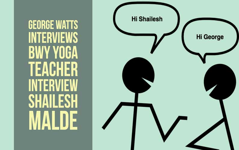 Interview Shailesh Malde