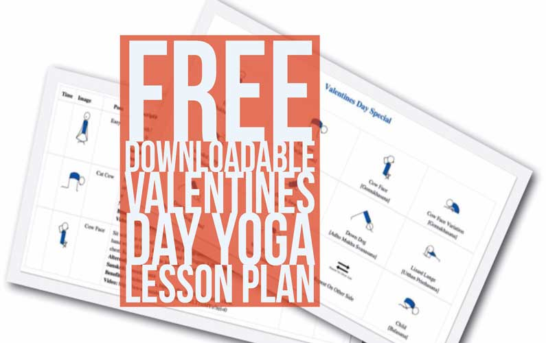 Valentines Day Yoga Lesson Plan