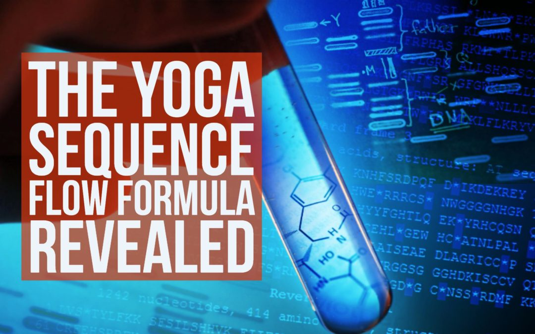 yoga sequence flow formua
