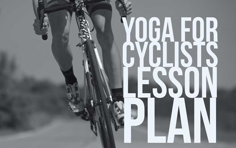 yoga for cyclists lesson plan