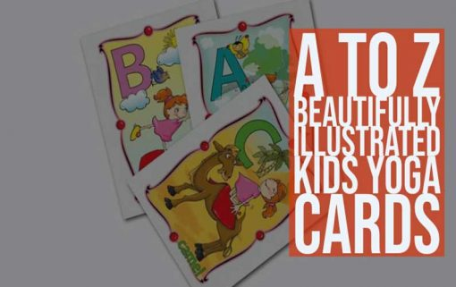 A to Z Illustrated Kids Yoga Cards