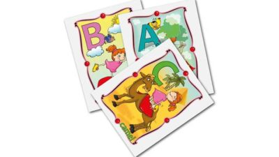 ABC Kids Yoga Card Deck