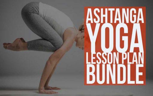 Ashtanga Lesson Plan Bundle