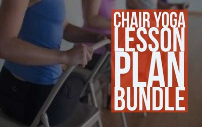 Chair Yoga Lesson Plan Bundle