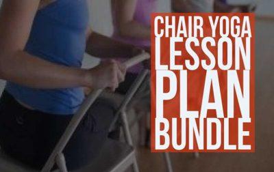 Chair Yoga Lesson Plan Bundle