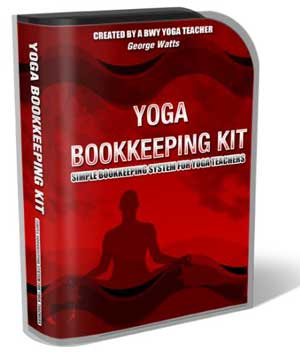 Yoga Book Keeping Kit