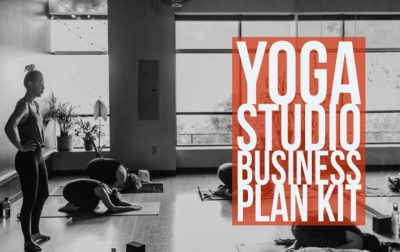 Yoga Studio Business Plan Kit